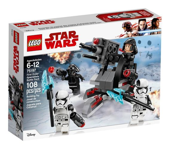 LEGO Star Wars First Order Specialists Battle Pack, 108-pc