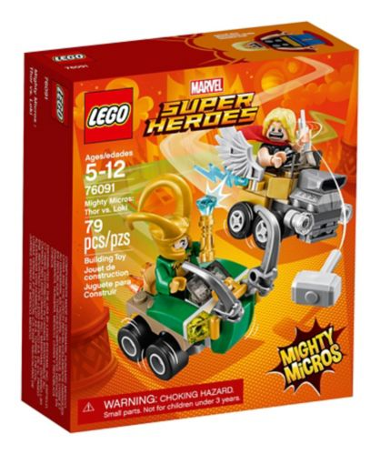 LEGO Marvel Super Heroes Mighty Micros: Thor vs. Loki, 79-pc Product image