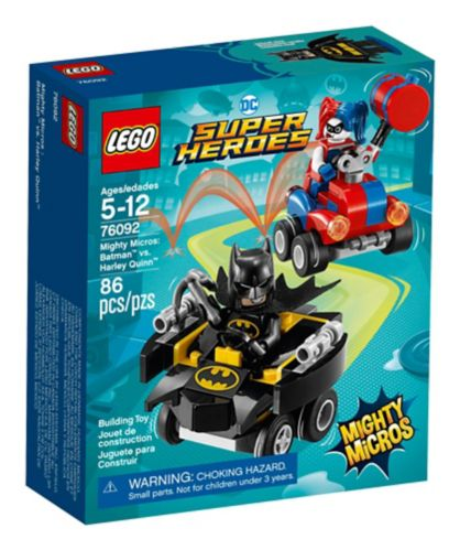 LEGO DC Super Heroes Mighty Micros: Batman™ vs. Harley Quinn™, 86-pc Product image