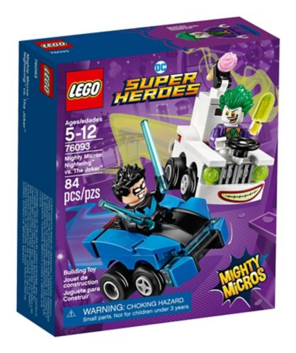 LEGO DC Super Heroes Mighty Micros: Nightwing™ vs. The Joker™, 84-pc