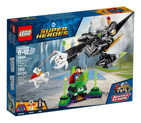 LEGO DC Super Heroes Superman™ & Krypto™ Team-Up, 199-pc Product image