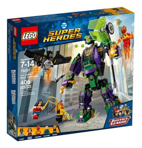 L'attaque du robot de Lex Luthor LEGO DC Super Heroes, 406 pces Image de l'article