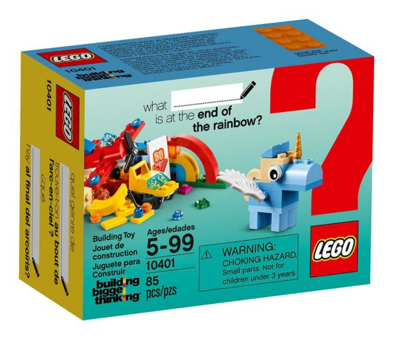 LEGO Rainbow Fun, 85-pc