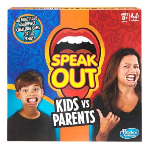 Hasbro Speak Out Kids vs. Adults Game Product image