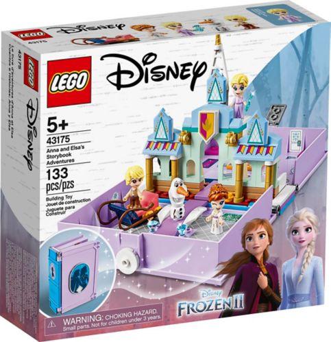 LEGO Disney, Le livre d'aventures d'Anna et Elsa, 43175 (133 pièces)