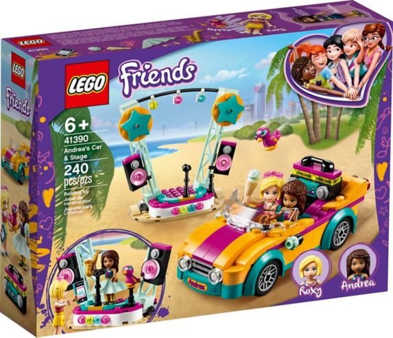LEGO® Friends Andrea's Car & Stage - 41390 Product image
