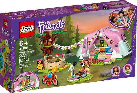 LEGO Friends, camping en tente confortable, 41392