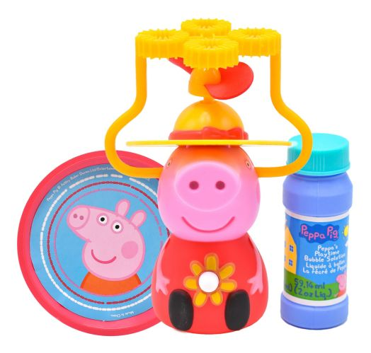 Souffleur de bulles Peppa Pig