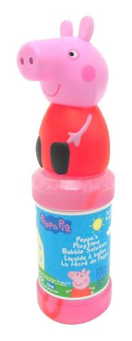 Peppa Pig Playtime Bubble Solution, 8-oz