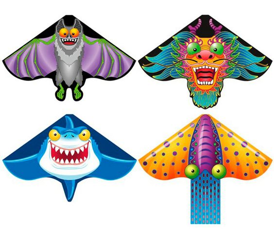 Breezy Delta Kites, Assorted Product image