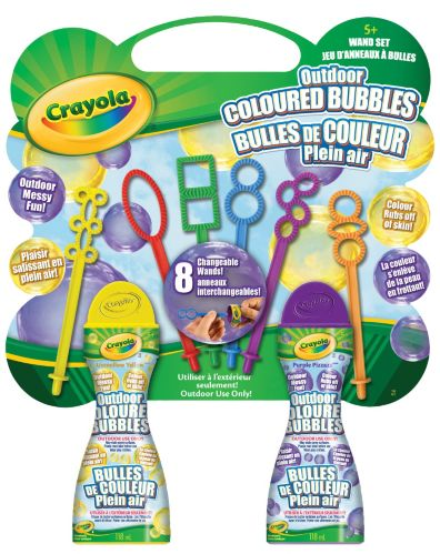 Crayola Bubble & Wand Set