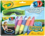 Craies de trottoir 3D de Crayola | Crayolanull