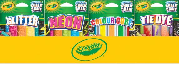 Crayola Special Effects Sidewalk Chalk, Assorted Product image