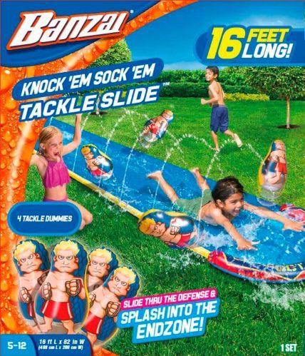 Glissade d'eau à obstacles Banzai Knock'em Sock'em, 16 pi Image de l'article