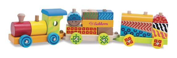 Colour Wooden Train Product image