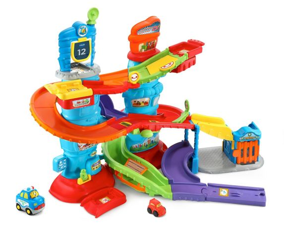 VTech Go! Go! Smart Wheels® Launch & Chase Police Tower Playset Product image