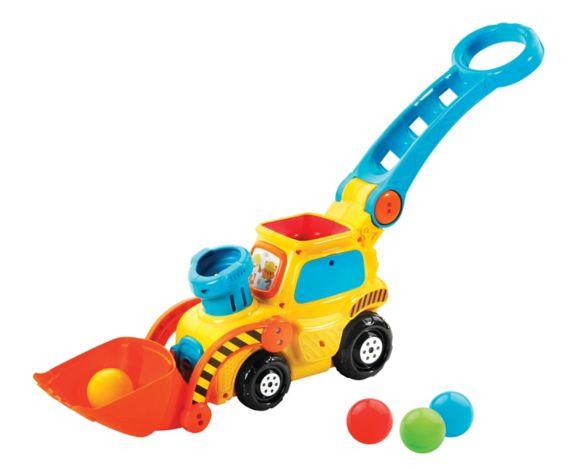 VTech Pop-a-Balls™ Push & Pop Bulldozer™