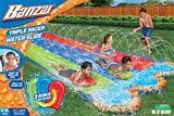 Glissade d'eau Triple Racer   Banzainull