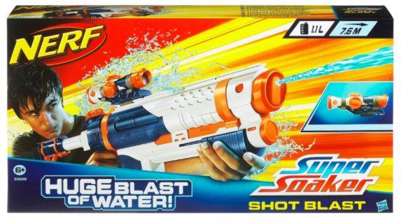 Pistolet à eau Nerf Super Soaker avec viseur Image de l'article