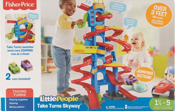 Tour Fisher-Price Little People Take Turns Skyway Image de l'article