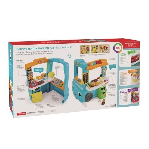 Fisher Price Laugh & Learn® Servin' Up Fun Food Truck Product image