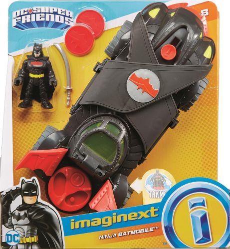 Imaginext® DCSuper FriendsNinja Armor Batmobile Product image