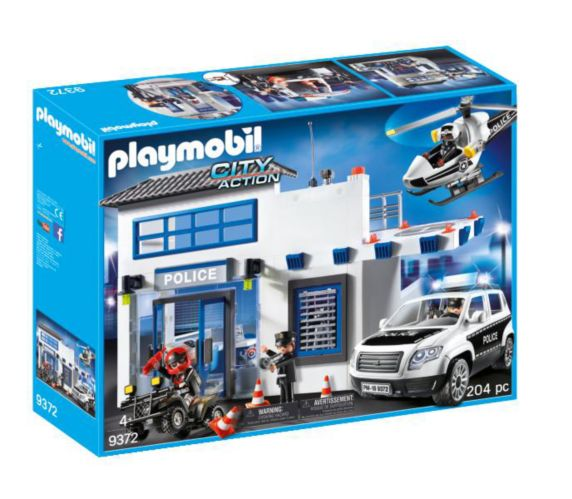 Ensemble de jeu de poste de police PLAYMOBIL City Action