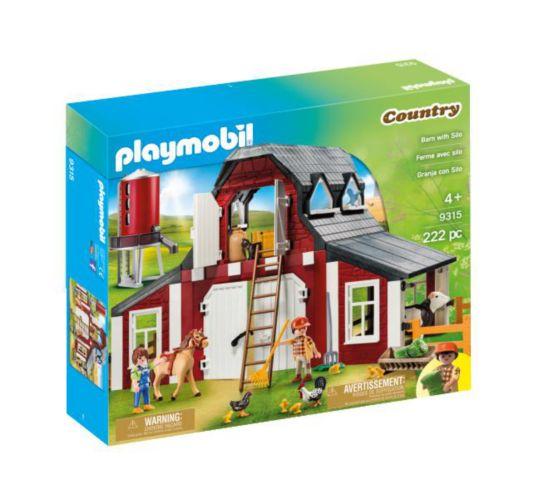 Ensemble de jeu de grange avec silo PLAYMOBIL Image de l'article