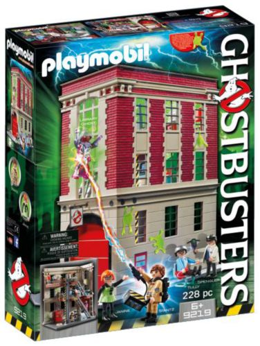 PLAYMOBIL Ghostbusters™ Firehouse Playset Product image