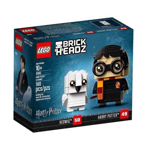 LEGOMD BrickHeadzMC Harry PotterMC et HedwigeMC - 41615 Image de l'article