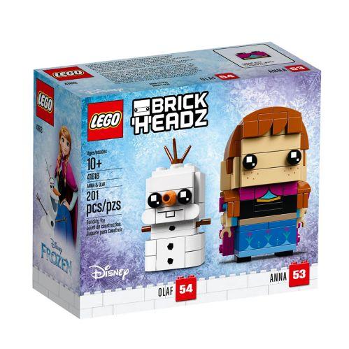 LEGOMD BrickHeadzMC Anna et Olaf - 41618
