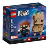 LEGOMD BrickHeadzMC Groot et Rocket - 41626 | Legonull