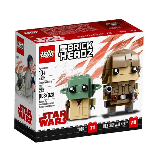 LEGO® BrickHeadz™ Luke Skywalker™ & Yoda™ - 41627 Product image