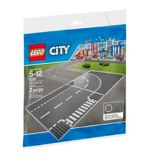 LEGOMD City, Plaques de route - Ligne droite et carrefour - 7280 | Legonull