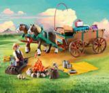 Ensemble de jeu papa et wagon PLAYMOBIL Spirit Lucky's | PLAYMOBILnull