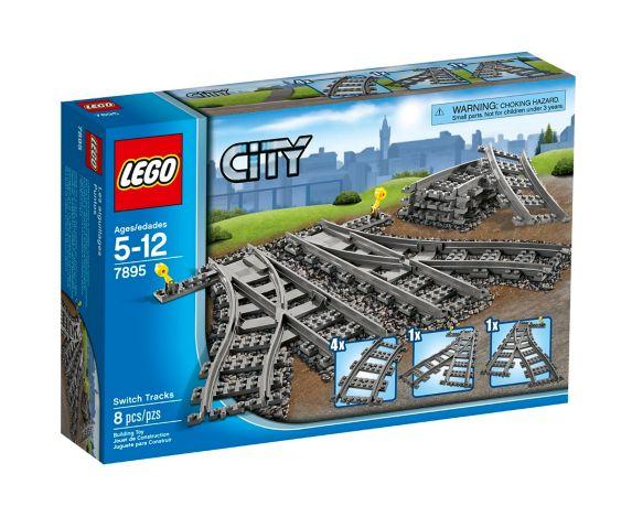 LEGOMD City, Les aiguillages - 60238, paq. 8 Image de l'article
