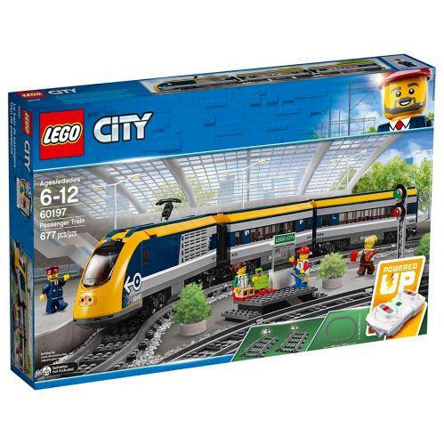 LEGOMD City, Le train de passagers télécommandé - 60197 Image de l'article