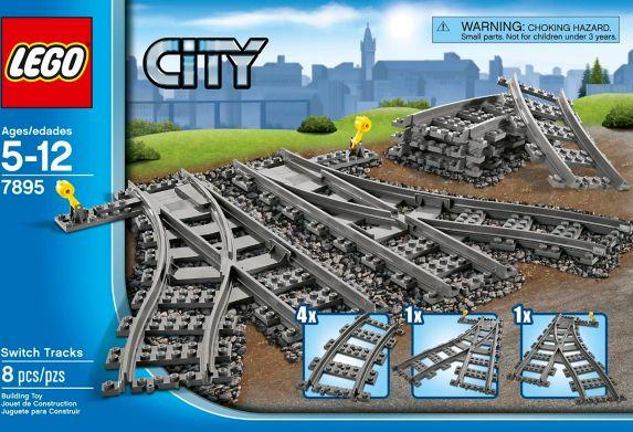 LEGO® City Switch Tracks Set, 8-pc Product image