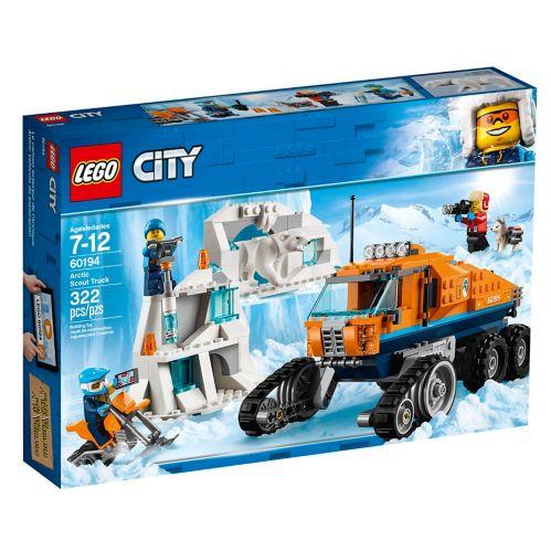 LEGOMD City, Le camion scout arctique - 60194