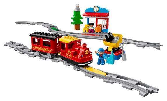 LEGOMD DUPLOMD, Le train à vapeur - 10874 Image de l'article