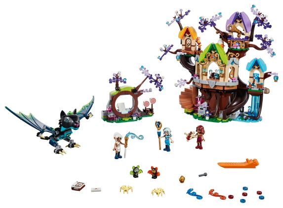 LEGO® Elves The Elvenstar Tree Bat Attack - 41196 Product image