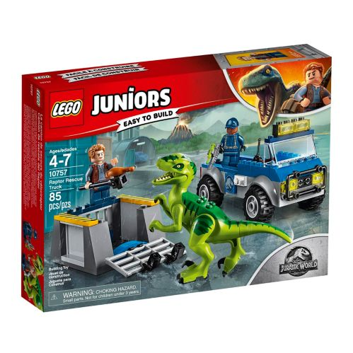 LEGO® Juniors Raptor Rescue Truck - 10757 Product image
