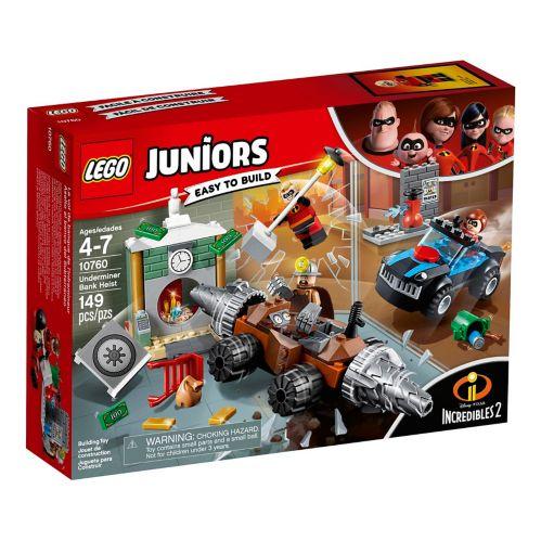 LEGO® Juniors Incredibles 2 Underminer Bank Heist - 10760 Product image