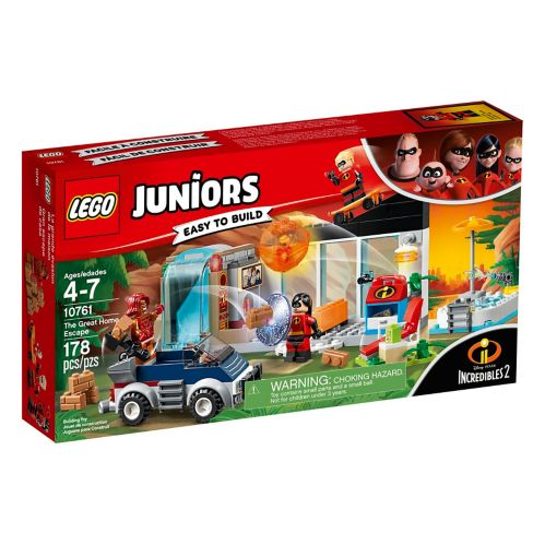 LEGO® Juniors Incredibles 2 The Great Home Escape - 10761