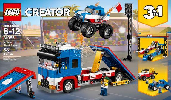 LEGO Creator, Le spectacle de cascades ambulant – 31085 Image de l'article