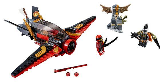 LEGOMD NinjagoMD, La poursuite dans les airs - 70650 Image de l'article
