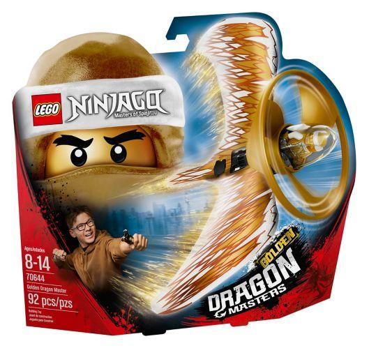 LEGOMD NinjagoMD, Le maître du dragon d'or - 70644