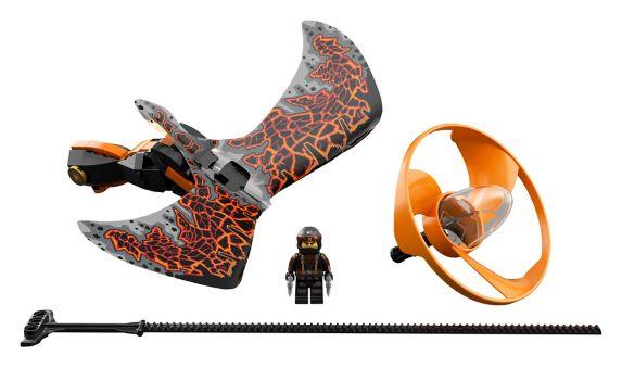 LEGOMD NinjagoMD, Cole - Le maître du dragon - 70645 Image de l'article