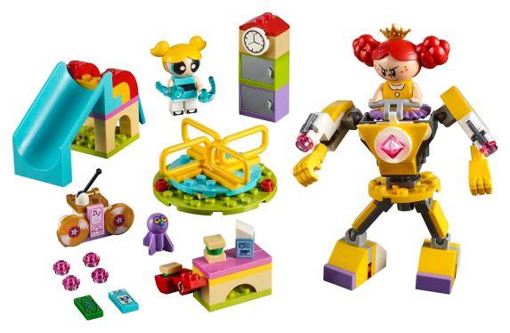 LEGOMD Les Super NanasMC, La bataille de Bulle dans la cour de récréation - 41287 Image de l'article