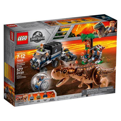 Le Carnotaure et la fuite en gyrosphère LEGO Jurassic World - 75929 Image de l'article